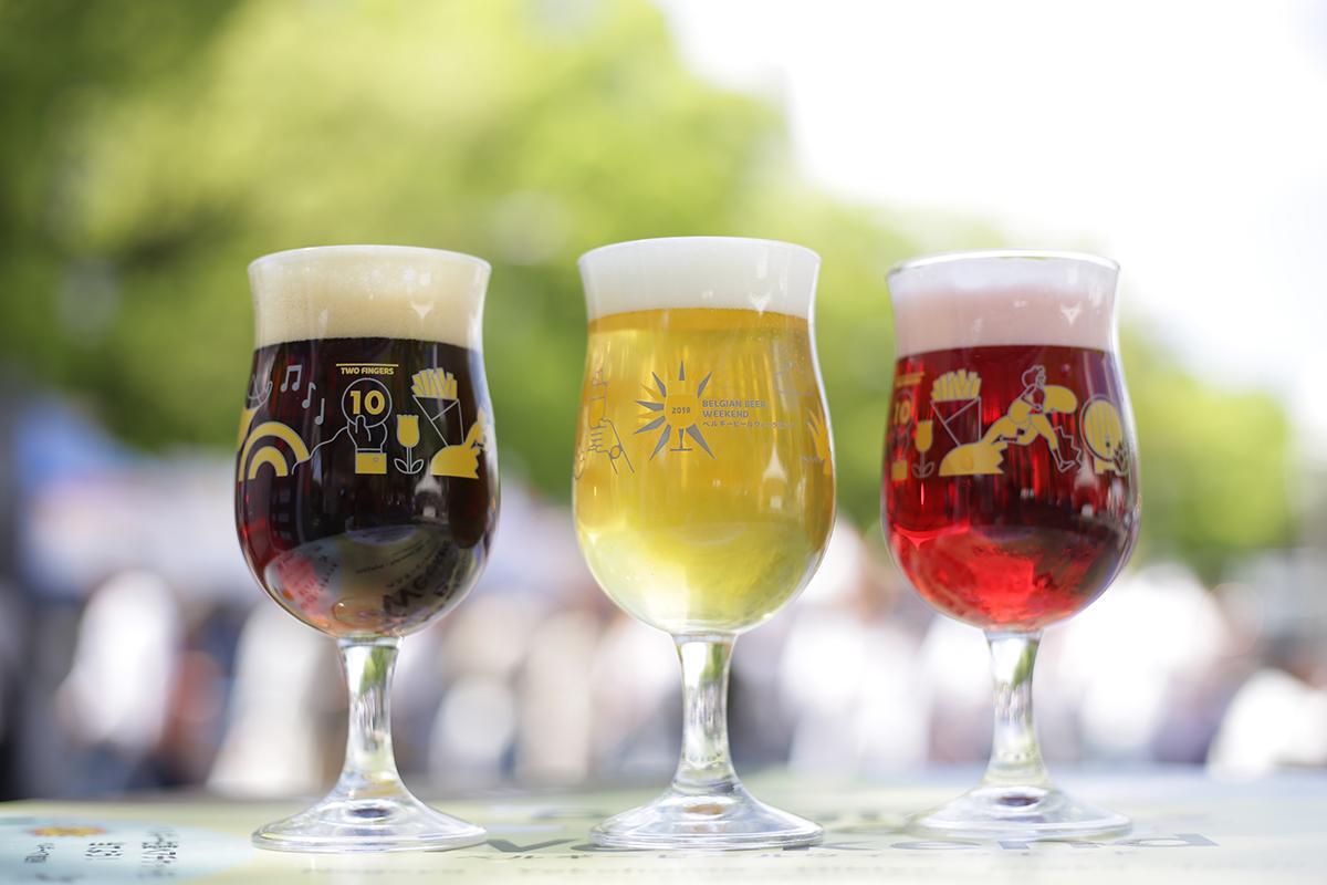 「ベルギービールウィークエンド」のベルギービールのイメージ(写真は2019年開催時のもの)