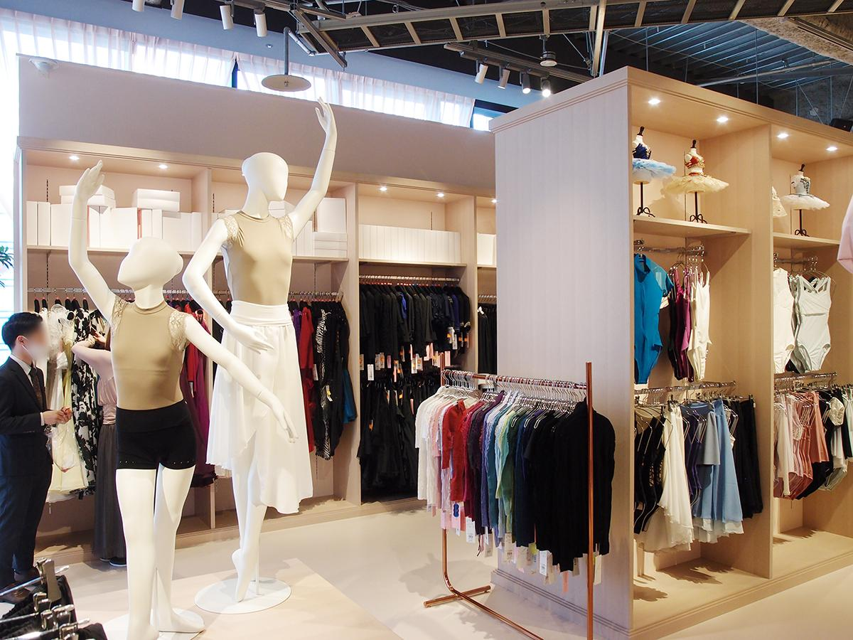BINO栄にオープンした「Chacott名古屋店」店内の様子