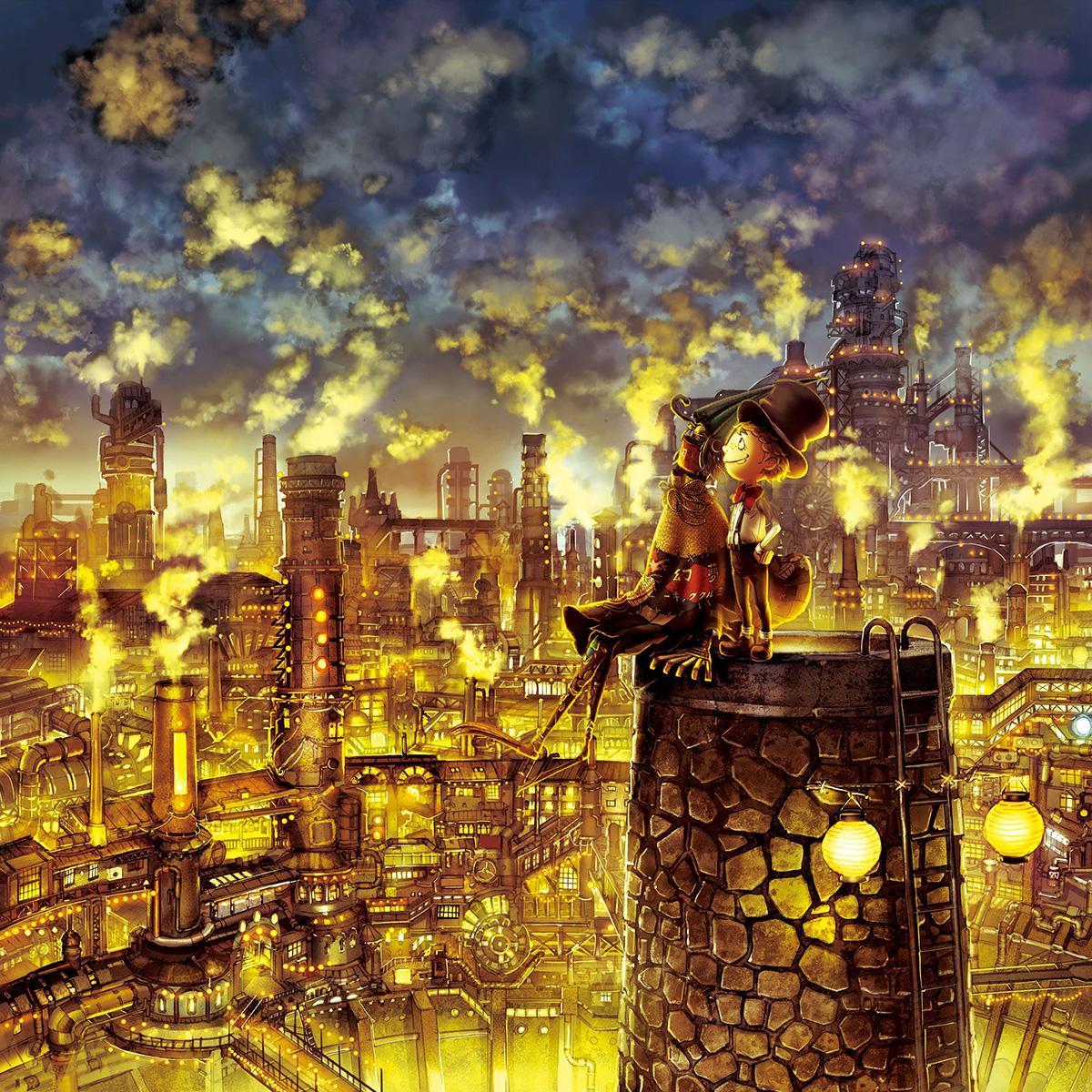 絵本「えんとつ町のプペル」のイメージ(画像提供=名古屋テレビ塔)