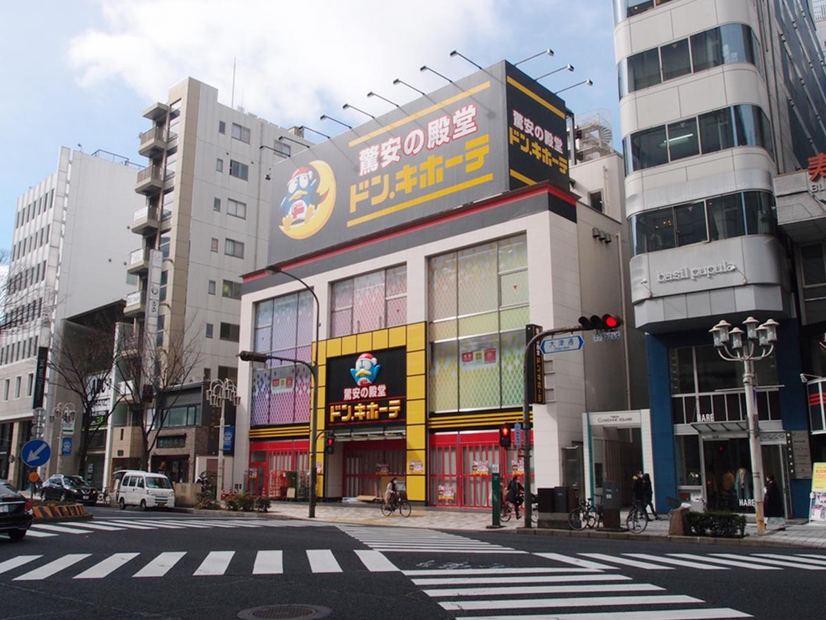 開店準備を進める「ドン・キホーテ栄三丁目店」現在の様子
