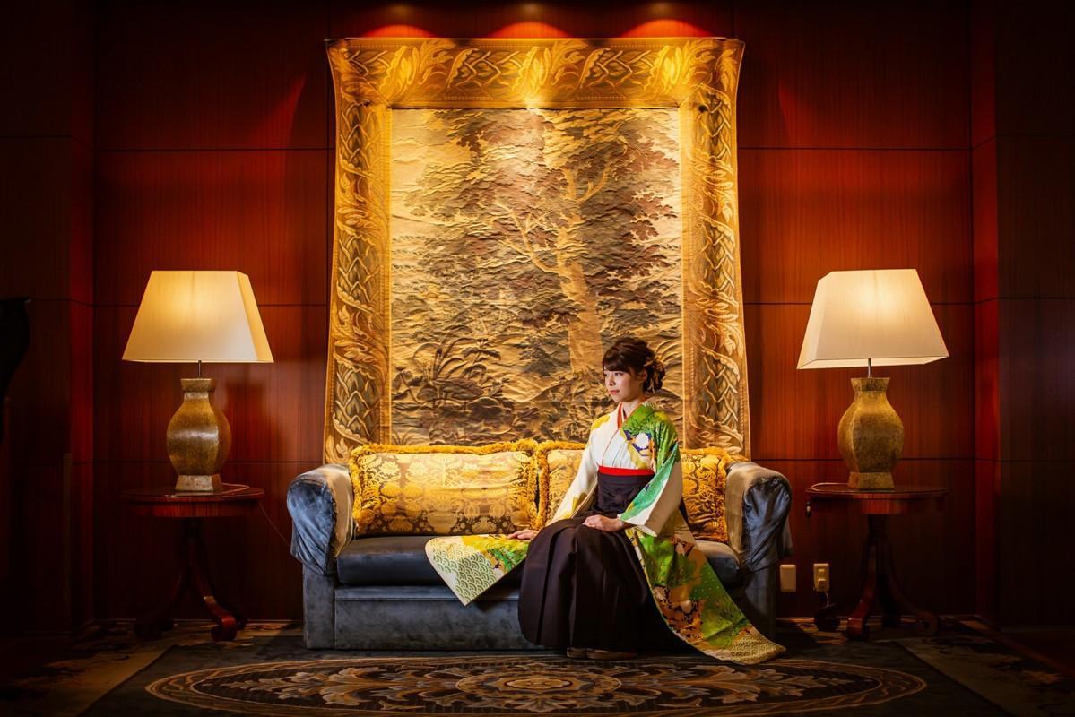 「名古屋観光ホテル」館内で撮影したイメージ