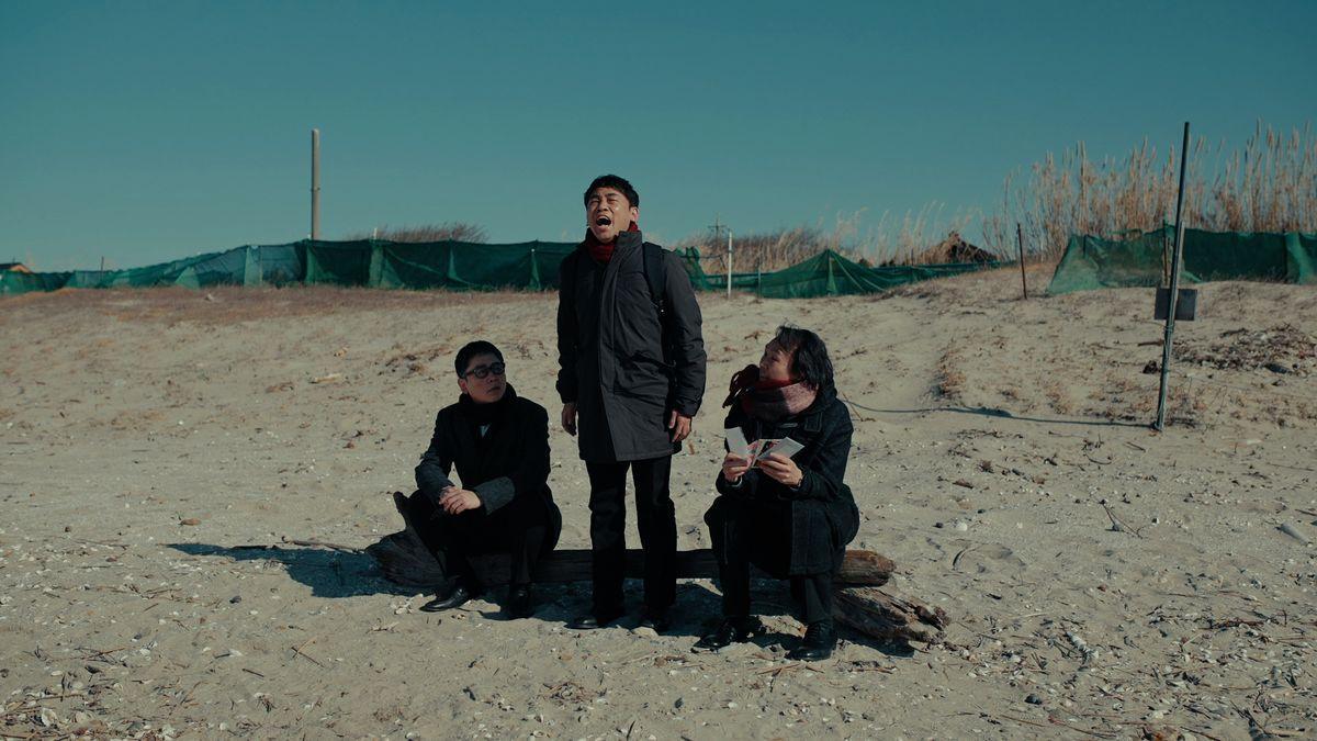 山下敦弘監督の短編映画「ランブラーズ2」。初期の代表作「リアリズムの宿」の主人公たちの17年後を描く