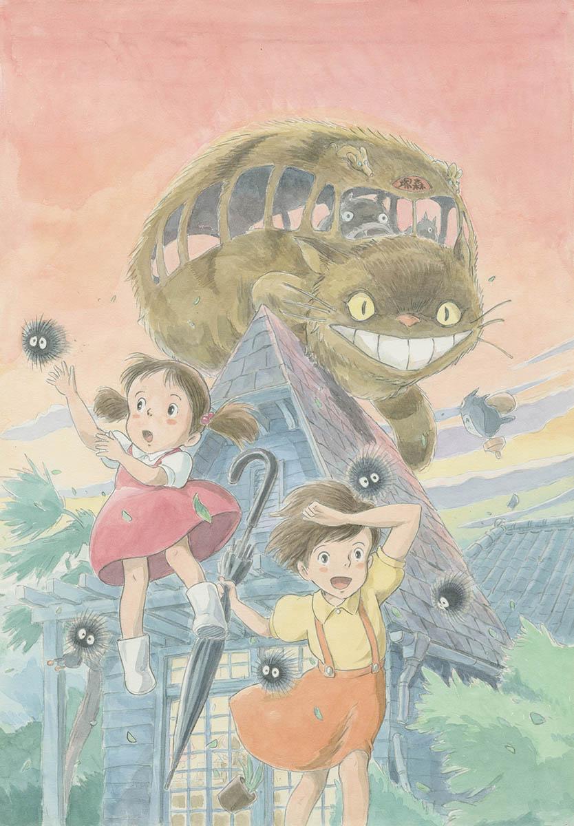 「ジブリの大博覧会~ジブリパーク、開園まであと1年。~」メインビジュアル © Studio Ghibli