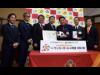 グランパス、名古屋トヨペットが名古屋市内の小学校にサッカーボール850球寄贈