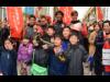大須商店街でグランパス選手らが応援呼び掛け ホーム開幕へ向けチラシ配布