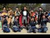 名古屋城で「名古屋おもてなし武将隊」出立式 利家、陣笠隊・一之助が卒業
