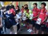 栄・松坂屋前でグランパス選手が街頭募金活動 西日本豪雨災害の支援に