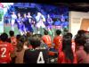 栄・オアシス21でグランパス開幕戦パブリックビューイング 名古屋から熱い声援を