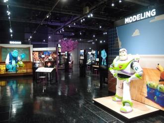 名古屋市科学館で「PIXARのひみつ展」 アニメ制作の鍵となる8工程を紹介