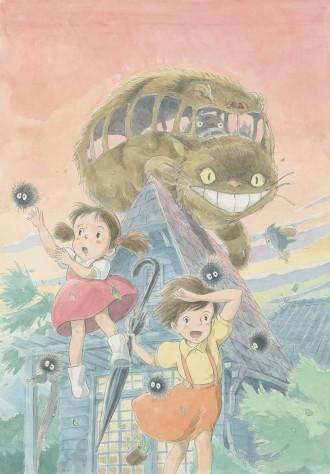 愛知県美術館で「ジブリの大博覧会」開催へ 「空飛ぶ巨大な船」「トトロ・バー」など