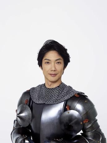 ドン・キホーテを演じる野村萬斎さん。撮影=久家靖秀