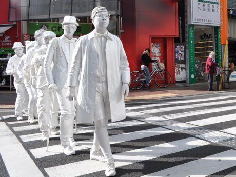 東京ハック登場に「白い」「すごい」「キモい」などの声が