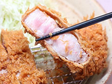 甘みのある肉とまろやかな脂身が特徴の茨城県産「瑞穂芋豚」