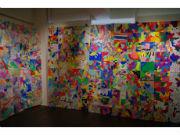 世田谷・池尻で塗り絵ワークショップ つないだ巨大作品は「世界旅行」へ