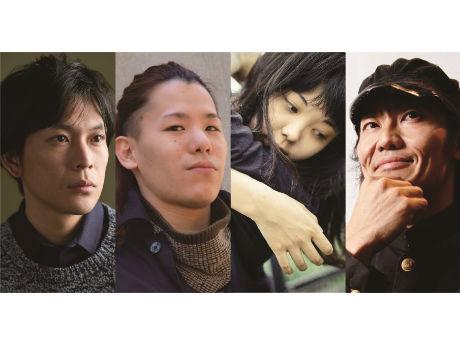 出演者の(左から)川口覚さん、北尾亘さん、入手杏奈さん、近藤良平さん