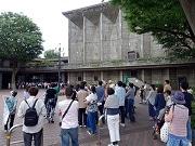 世田谷で近代建築見学ツアー 区民会館など、前川國男の作品を巡る