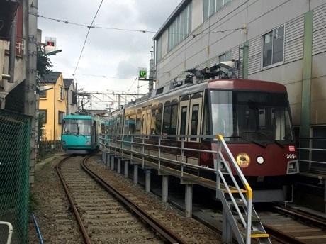 東急世田谷線を使って巡るツアー