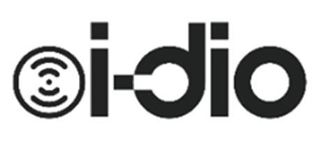 2016年3月から始まったマルチメディア放送の新サービス「i-dio」のロゴマーク
