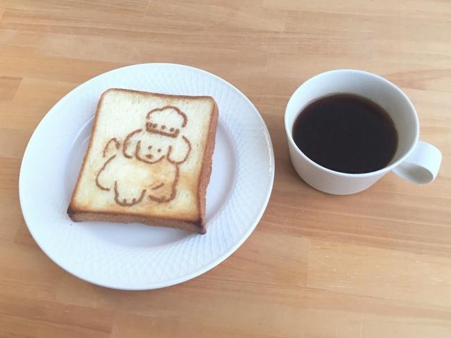 「わんこパン」にはドンクの食パンを使う