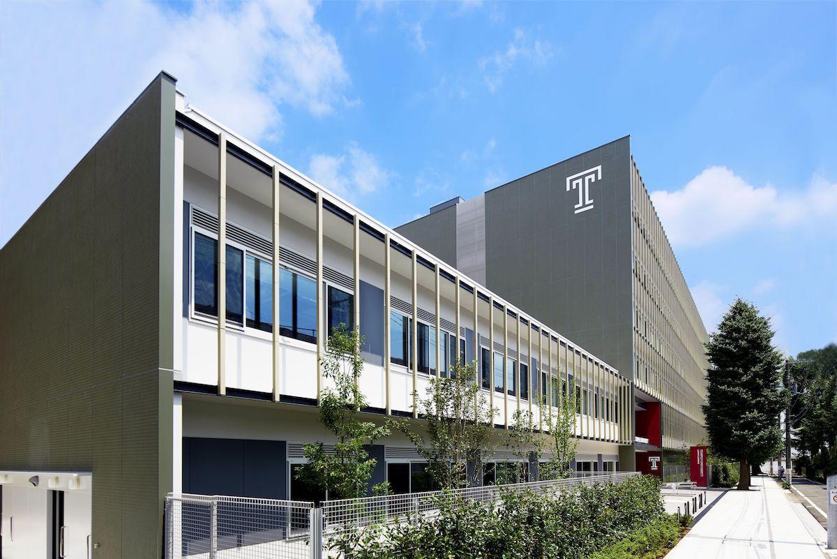 テンプル大学ジャパンキャンパスの新校舎1