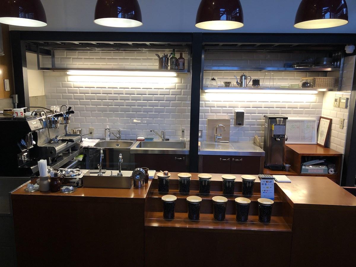 「Tokyo Coffee Lab.」店内