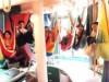 世田谷ものづくり学校で「ハンモックギャラリー」-ハンモック作り体験も