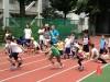 昭和女子大で親子スポーツイベント サッカーや太極拳など、パンやクッキー販売も