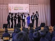 陸前高田・気仙中学校で「東北希望コンサート」-音楽の力で東北に力を