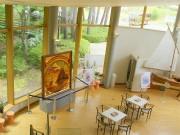 久慈・琥珀博物館で「三陸の夜明け」展-宮沢賢治の世界観を演出