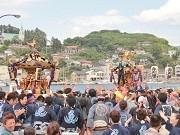 気仙沼で初の「復興神輿まつり」-全国から300人の担ぎ手集まる