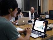 大槌町でスマホアプリの開発講座-関西大学とIT企業が人材育成支援