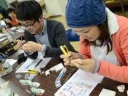 宮古で「消しゴムはんこ」ワークショップ-趣味で新たなコミュニティー作りを