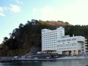 田野畑村の「ホテル羅賀荘」が1年8カ月ぶりに再開-大規模改装で