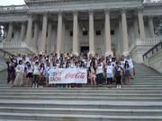 コカ・コーラ復興支援基金、被災地の高校生対象に米研修を支援