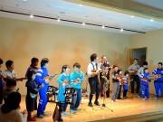 宮古で復興支援「ウクレレライブ」-小学生と広がるウクレレの輪