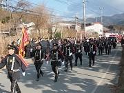 陸前高田で3年ぶりの出初め式、一丸となり復興に精進誓う