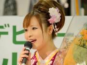 宮古の民謡歌手・小田代直子さんメジャーデビュー、「一緒に頑張っていきたい」