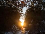 「日の出ご開帳」で知られる南三陸・神割崎 フォトコンテストで作品募集