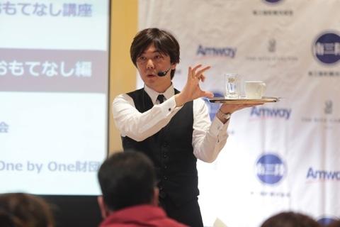 リッツ東京が南三陸で「おもてなし講座」 顧客満足のエッセンス伝える