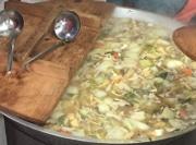 南三陸で芋煮会 地場産品を生かしながら地域交流