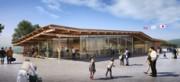 陸前高田に完成予定のコミュニティー施設 設計者・隈研吾さんがデザイン発表