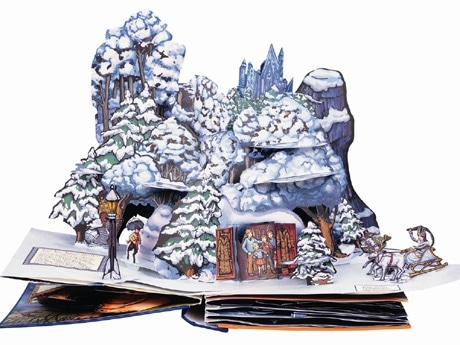 Robert  Sabuda「The Chronicles of Narnia」 ナルニア国物語 The  Chronicles of Narnia  Pop-up. Copyright (C) 2007 by  C.S. Lewis Pte.Ltd.  Full-color art  by Matthew Armstrong;copyright  (C) 2007 by  C.S. Lewis  Pte.Ltd.  Paper engineering  by Robert  Sabuda; copyright  (C) by  Robert  Sabuda