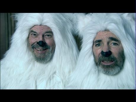 「SOSライブショートフィルム」作品のひとつ「BOB AND HARRY-THE LAST TWO POLAR BEARS」