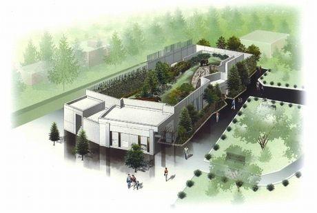 円山動物園の新施設「エゾヒグマ館」