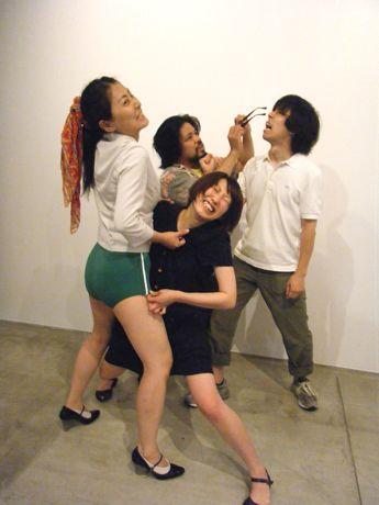 「VS.KYOTO」に出演する4劇団の主宰者たち