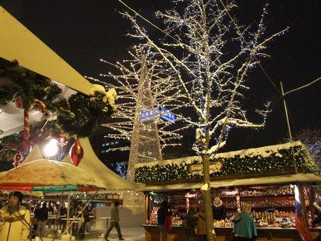 「ミュンヘン・クリスマス市2010」会場の様子