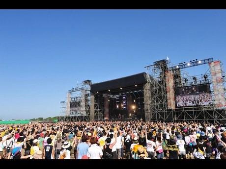 昨年の様子©RISING SUN ROCK FESTIVAL(撮影=原田直樹)