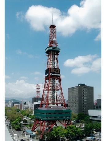 塗り替えたさっぽろテレビ塔の完成イメージ