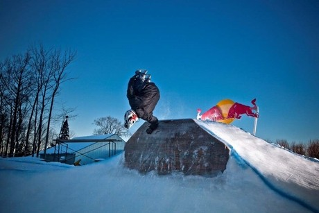 「Red Bull FREEZE」競技の様子©Red Bull