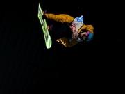 山根俊樹選手のジャンプ©HTB